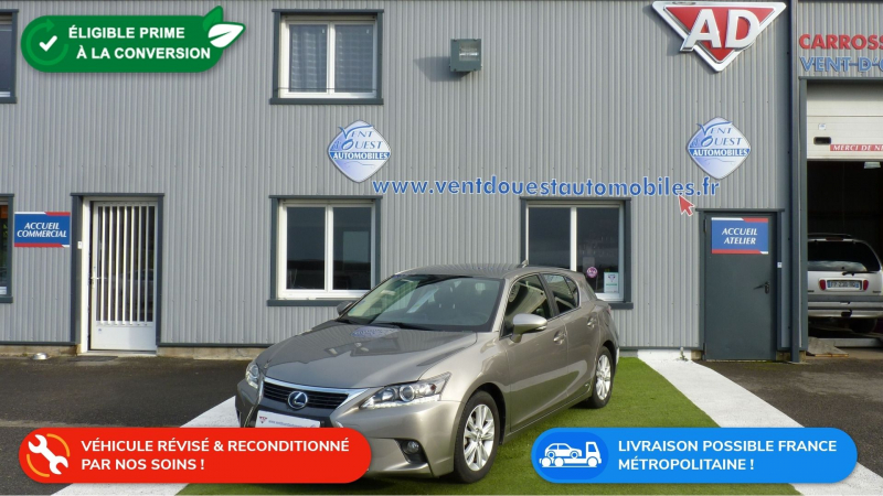 Lexus CT 200H PACK BUSINESS Hybride GRIS METAL Occasion à vendre